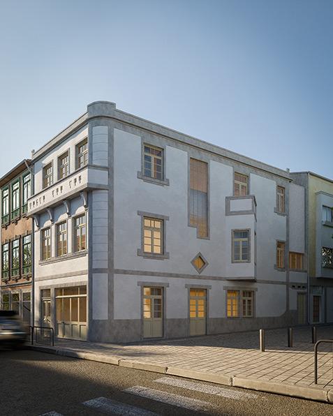 Residencial Building in Porto